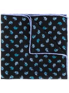 LANVIN галстук с графичным принтом