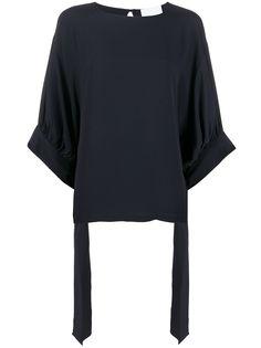 Erika Cavallini блузка с завязками на манжетах