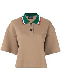 Kolor рубашка-поло с контрастным воротником