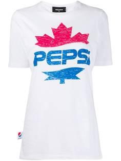 Dsquared2 футболка с логотипом #D2XPepsi