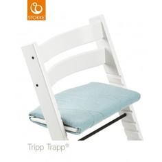 Подушка для стульчика Stokke Tripp Trapp Jade Twill, голбуой