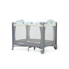 Кроватка-манеж классическая, с изображением слоненка, цвет: серый Mothercare