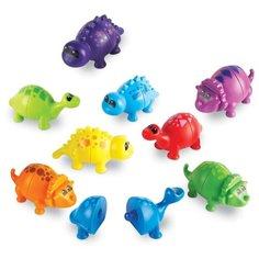Развивающая игрушка Learning Resources Собери динозавриков разноцветный