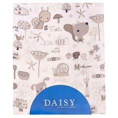 Многоразовые пеленки Daisy фланель 90х150 улитки