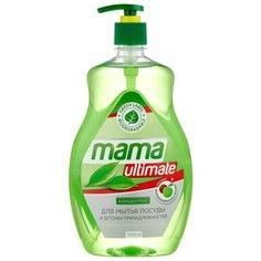 Mama Ultimate Концентрат для мытья посуды Зелёный чай 1 л с дозатором