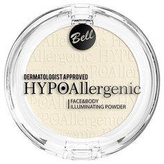 Bell Пудра придающая сияние HypoAllergenic Face&body Illuminating Powder 01