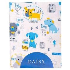 Многоразовые пеленки Daisy фланель 90х150 собачки