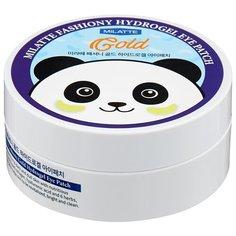 Milatte Гидрогелевые патчи для кожи вокруг глаз Fashiony Gold Hydrogel Eye Patch 90 г (60 шт.)