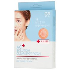 Berrisom Патчи от акне AC solution Acne Clear Spot Patch, 60 шт.