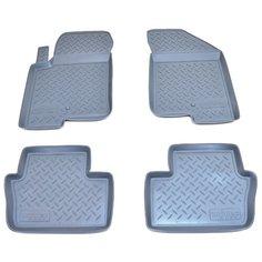 Комплект ковриков NorPlast NPL-Po-20-30 4 шт. серый