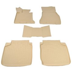 Комплект ковриков NorPlast NPA11-C07-254 5 шт. бежевый