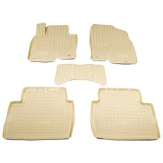 Комплект ковриков NorPlast NPA11-C55-683 5 шт. бежевый