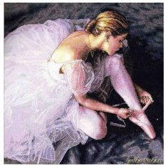 Dimensions Набор для вышивания Прекрасная балерина 36 х 36 см (35181)