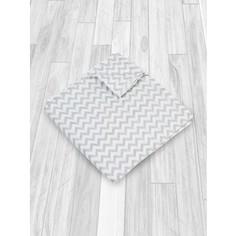 Муслиновая пеленка AmaroBaby Rainbow Зигзаг серый 125х115