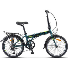 Велосипед Stels Pilot-630 20 (V020) 11.5 темно-зеленый