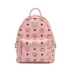 Рюкзак с логотипом бренда MCM