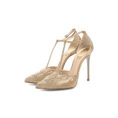 Комбинированные туфли Bella Rene Caovilla