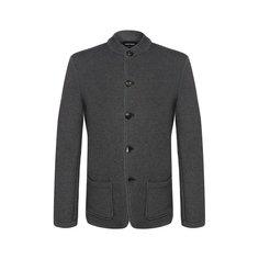 Пиджак из смеси хлопка и кашемира Giorgio Armani