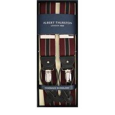 Подтяжки с кожаной отделкой Albert Thurston