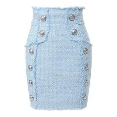 Твидовая юбка Balmain