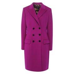 Двубортное шерстяное пальто Dolce & Gabbana