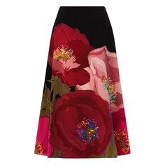 Шелковая юбка Valentino