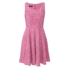 Платье с оборками Emporio Armani