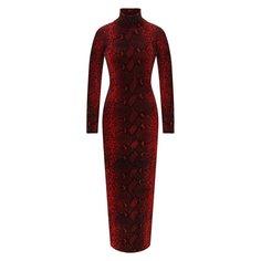 Платье с принтом Alexander Wang