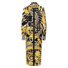 Шелковое платье Versace