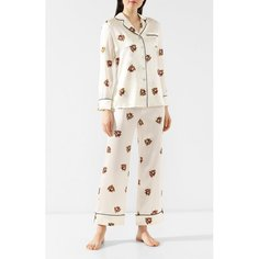 Шелковая пижама Olivia Von Halle