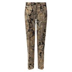 Жаккардовые брюки Dolce & Gabbana