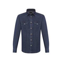 Джинсовая рубашка Z Zegna