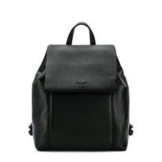 Кожаный рюкзак с клапаном Giorgio Armani