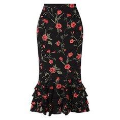 Шелковая юбка Michael Kors Collection
