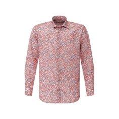 Рубашка из смеси шелка и хлопка Zilli