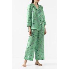 Пижама из смеси хлопка и шелка Zimmerli
