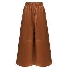 Кожаные брюки Yves Salomon