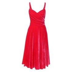 Бархатное платье Dolce & Gabbana