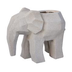 Горшок для цветов L&T POTTERY Слоненок беж 73.5х37х61 см