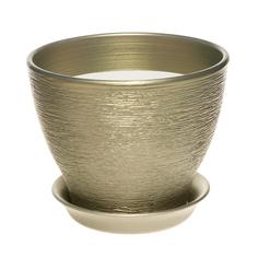 Горшок для цветов Керам Ксения оливковый 12 см