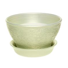 Горшок для фиалок Керам салатовый 10 см