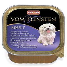 Корм для собак Animonda Vom Feinsten menue ягненок, цельные зерна 150 г