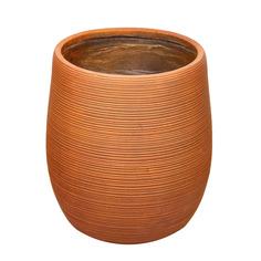Горшок для цветов полосатый ржавый L&t pottery 45х45х50 см