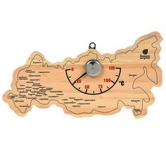 Термометр Банные штучки Карта России