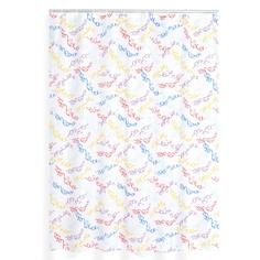 Штора для ванной комнаты Ridder carneval цветной 180x200
