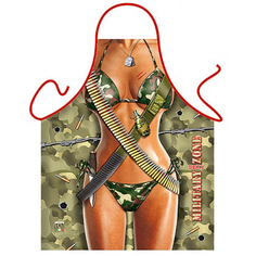 Фартук. 56х74 Itati фг-1/2 женщина-солдат