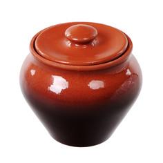 Горшок пищевой Вятская Керамика тонированный 0,5 л