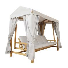 Качели H.l.furniture Bali 259x147x230см с москитной сеткой (BALU/HLSW2268/HLSW2268-C)