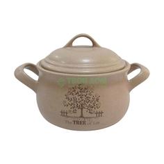 Горшок Terracotta с ручками 1 литр дерево жизни (TLY4098-3-TL-AL)