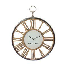 Часы настенные luton серебр. 45см Riverdale